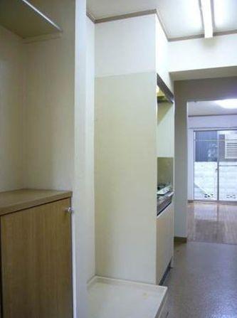 室内洗濯機置き場(玄関)