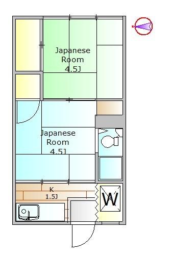 目黒区下目黒5丁目 【賃貸居住】アパート