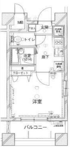 タイル張りのお洒落なマンション(外観)