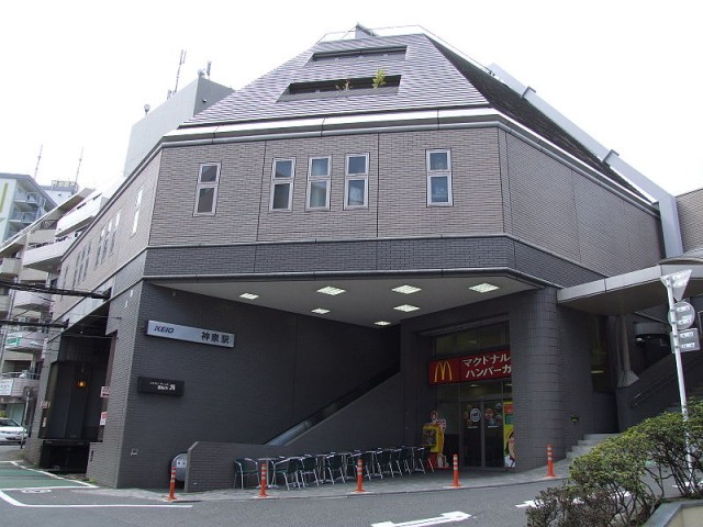 神泉町(周辺)