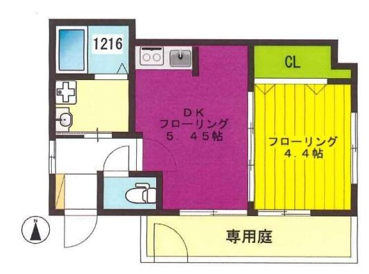 世田谷区奥沢1丁目 【賃貸居住】アパート