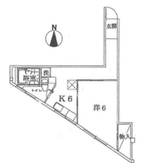 品川区旗の台6丁目 【賃貸居住】マンション