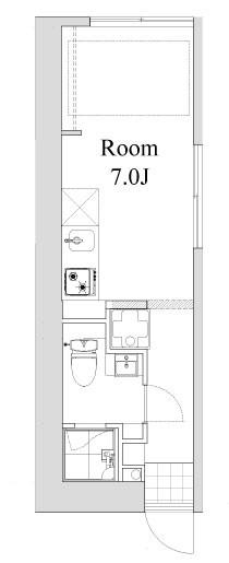 目黒区目黒本町3丁目 【賃貸居住】アパート