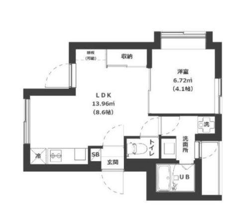 品川区東中延1丁目 【賃貸居住】マンション