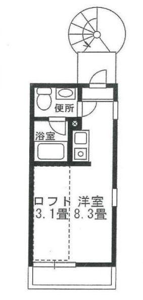 大田区北千束3丁目 【賃貸居住】アパート