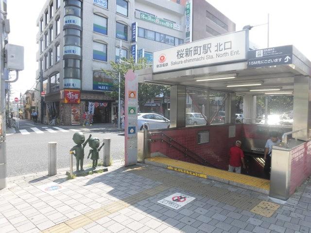 桜新町駅.(周辺)