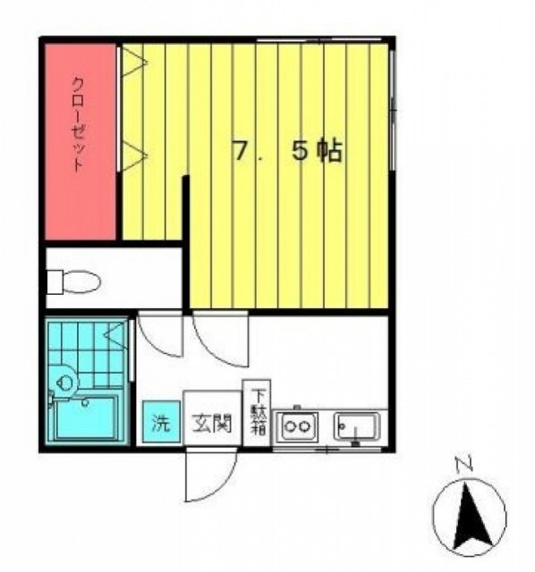品川区小山台1丁目 【賃貸居住】アパート