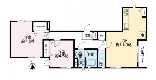 港区白金5丁目 【賃貸居住】アパート