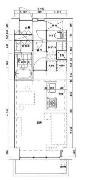 港区西麻布4丁目 【賃貸居住】マンション