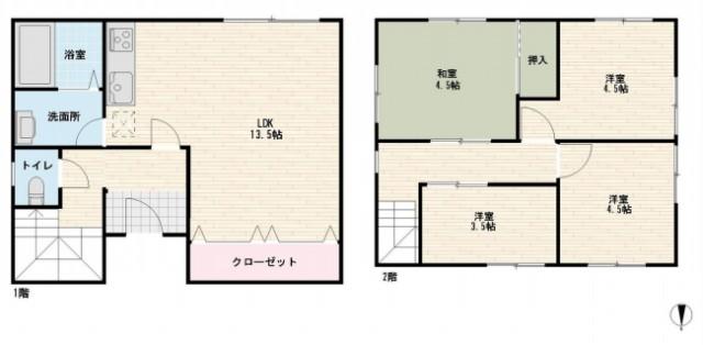 大田区北馬込1丁目 【賃貸居住】一戸建