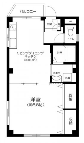 大田区蒲田2丁目 【賃貸居住】マンション